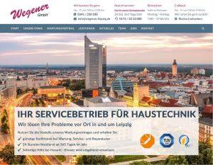 Homepage unseres Sponsors: die Firma Wegener GmbH